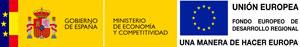 Logo Ministerio Economía y FEDER